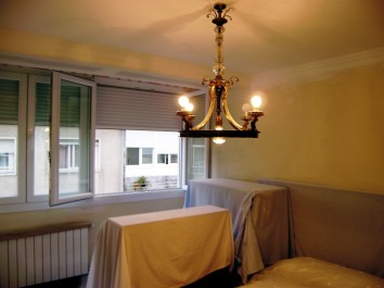 Pintura en el interior - apartamento
