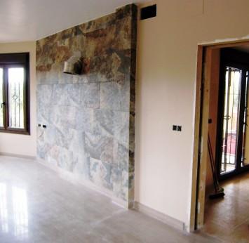 Pintura en el interior - Salón