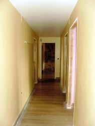 Pintura en el interior - pasillo
