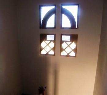 Escaleras interiores - pintura de interior