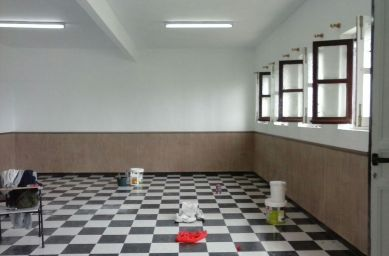 Pintura de paredes interiores